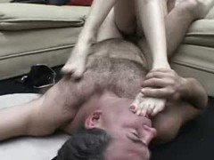 A fetish video for the discriminate. In this installment we watch as these lovely ladies and lads suck toes, get fired up and screw each others toes off!video