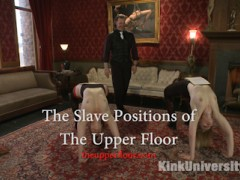 Introducing the most comprehensive workshop on Slave Position Training ever released on video! The Upper Floor's own Maestro Stefanos his wife and lifestyle collared slave Shay present this advanced, detailed tutorial on a wide range of slave positions and their uses, including The Upper Floor's 12 slave positions. You'll learn use of Stress positions, Service positions, Sexual positions and more, for public and private ceremony, play, and protocols. You'll also learn the mental and physical effects of position training--for both the Dom and the submissive type, plus how to develop your own specific slave positions for tying bondage, fostering obedience and self-esteem, enhancing sex, or even for punishment.This tutorial builds upon the basics demonstrated in Stefanos & Shay's previous protocol video; see: Protocol & Position Training on Kink University.video