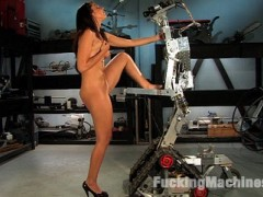 All November the Amateur girls will be voted on in the FuckingMachines.com forums by you, the member. The winning applicant will come back and do a LIVE show with Bobbi Starr in a Pornstar vs. Amateur shoot. Last Friday, Ela Darling debuted as the first applicant. Her long, loud orgasms and candid reactions to the machines made her an instant favourite.This week Southern California hottie, Claire, fucks for the first time on camera. Claire's a little like that girl from band camp...know what I mean? She's chatty, outrageous and fucks dicks bigger than she thought she could ever take. Her confessional is almost as entertaining as her shoot, almost. Watch and then vote in the forums under the Amateur contest post.video