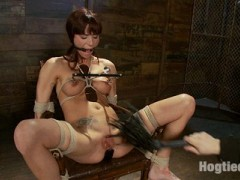 Gia is one of those special girls that is hard to ignore. She's beautiful, sexy as all hell & a dirty fucking whore when it comes to submitting to my ropes. Tied tight, plugged, stretched, stuffed, suspended & ass fucked Gia suffers through it all with orgasm after orgasm...video