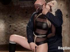 HogTied brings you the hottest babes first - All natural big tit blonde babe tied, spanked, clipped, clamped and orgasmed for the first time on Kink.comvideo