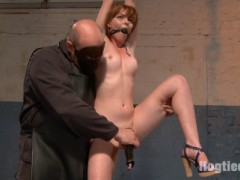 Sarge takes hot redhead Marie McCray as his own bondage slut and washes away all her dirty sins.video