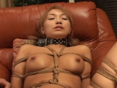 This is the second part of a hardcore bondage sex video ''Japanese Blackmailed BDSM Training 12''. Tortured Asians live for this kind of treatment  they love being tortured. This is close to being raped  the only difference is that the women are aware but immobilized.video