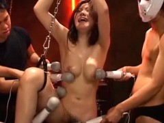 Nice vintage bondage movie of pure pain and torture. This Bondage girl's body parts are abused including her every hole with any objects that would vibrate and enhance her orgasm. See a fucking machine inserted in her tight pussy to help her blow her load.video